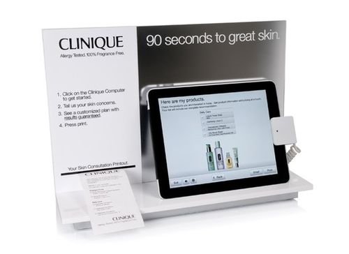 Clinique02 skin diagnostic tool