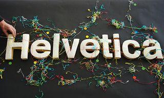 Helvetica-cake