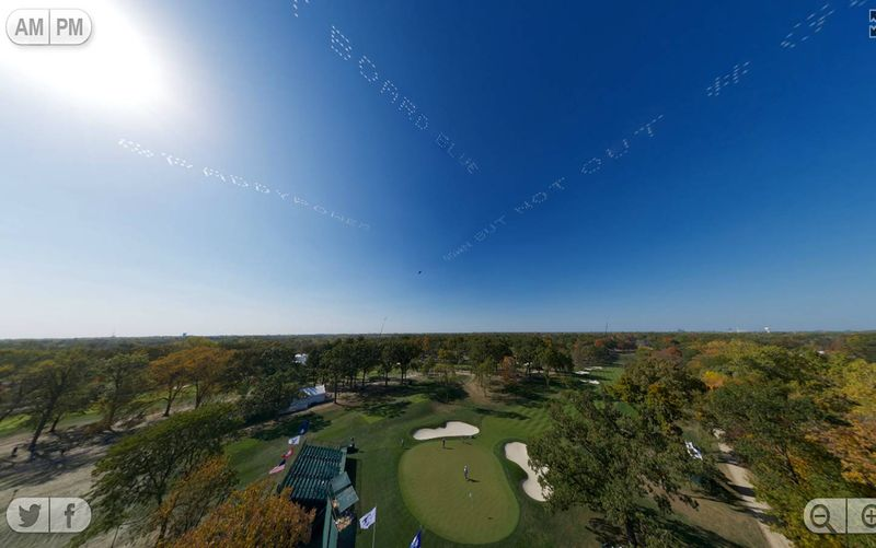 Paddy Power sky writing helps inspire Europe to Ryder Cup victory